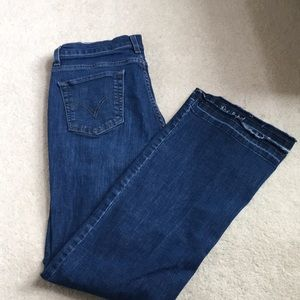Levi's 'perfectly slimming' jeans.